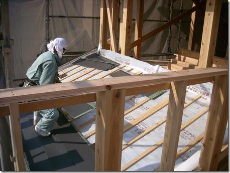 屋根工事 (2)