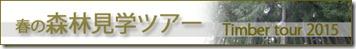 timber tour banner はじめまして、新入社員 栗本です!