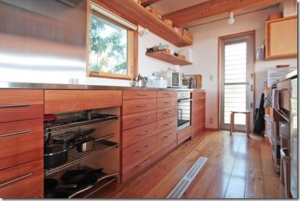 H邸キッチン