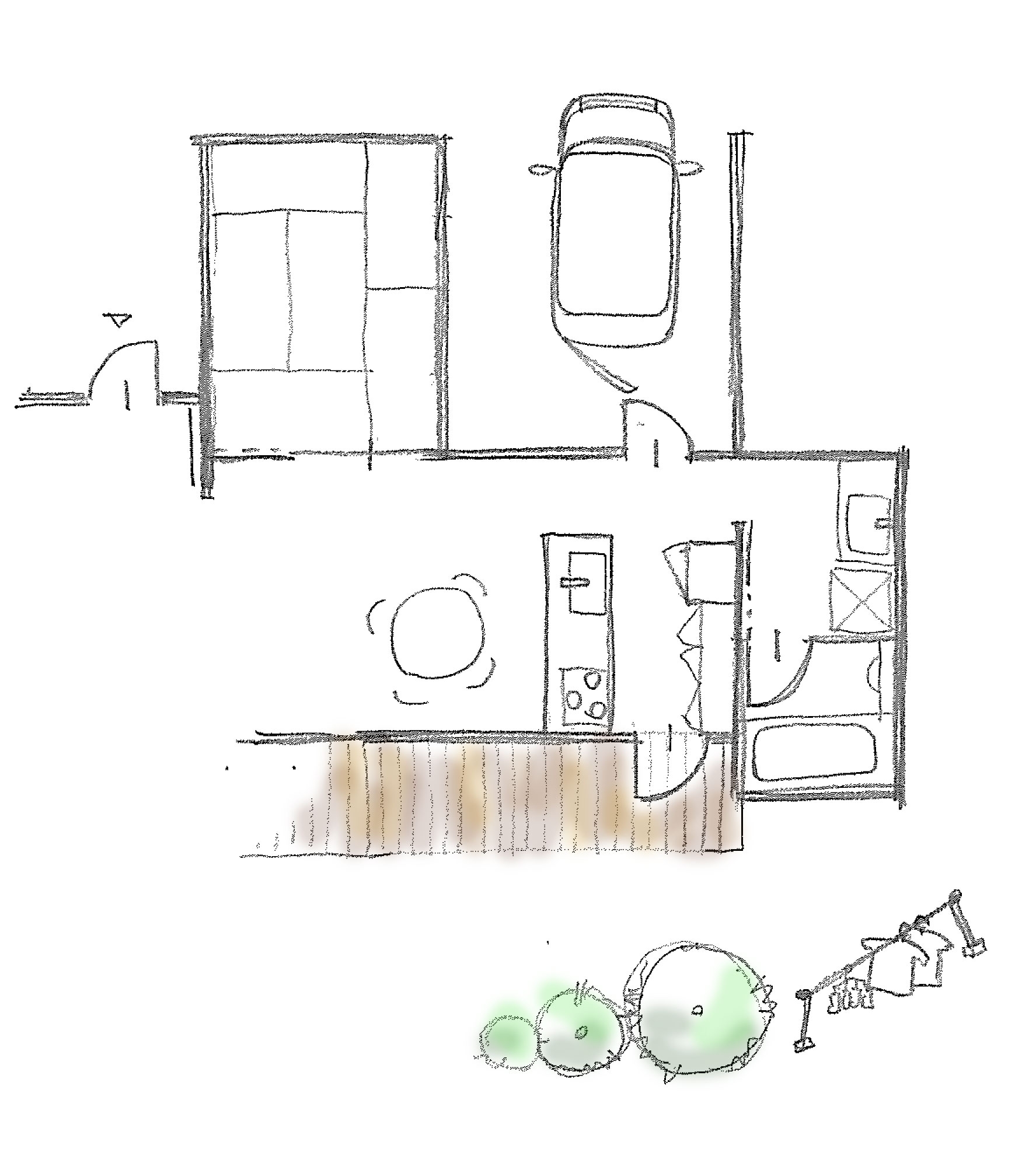 家事動線イラスト01