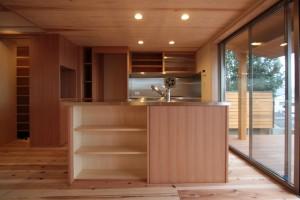 造作キッチン(古川邸)